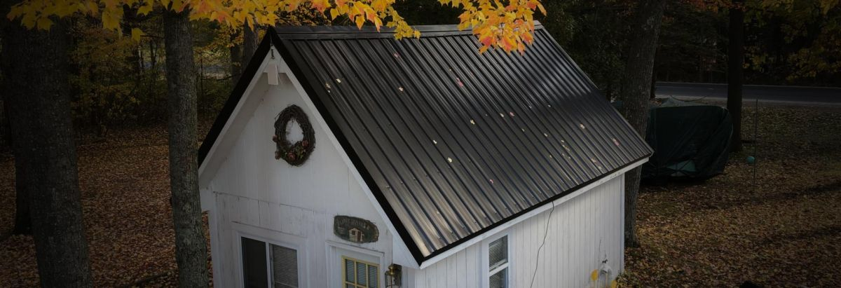 Integral Builders Metal Shed Roof
